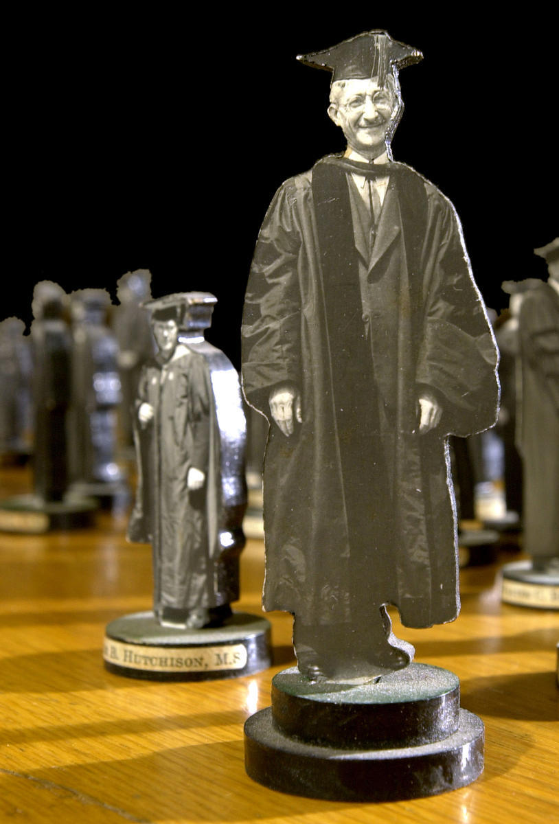 "Senate ""little men"" chess pieces"