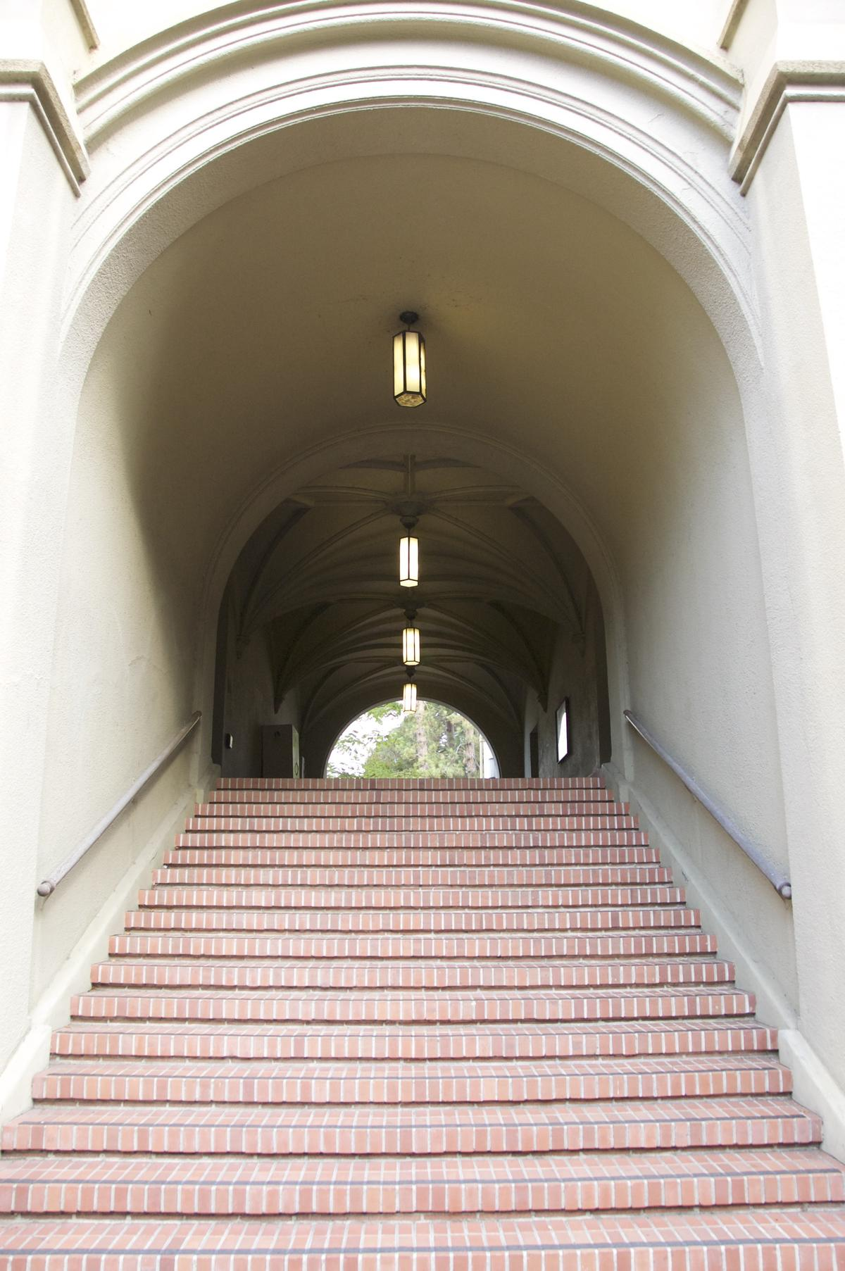 Stephens arch and stairs